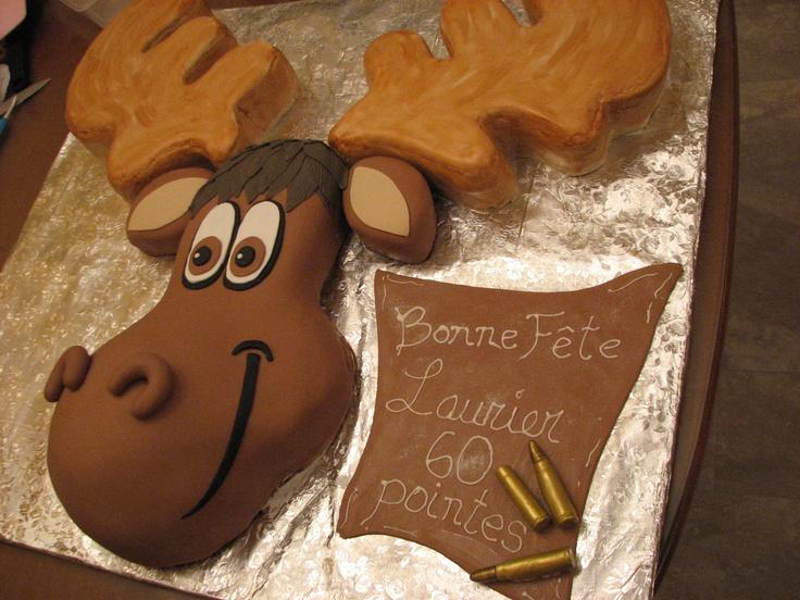 Moose Cake Fondant Orignal G 226 Teau Cake G 226 Teau Chantaloo