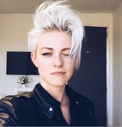 17 best ideas about short white hair on pinterest short platinum hair white blonde bob and