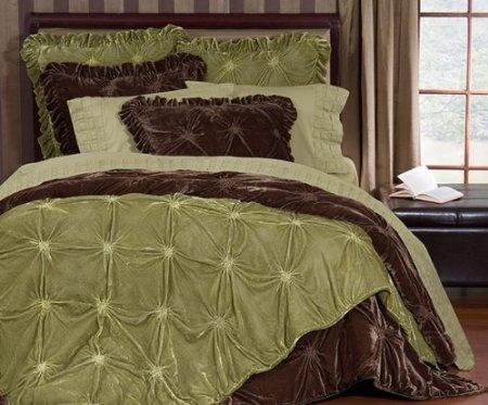 Empress Silk Velvet Quilt Sets King