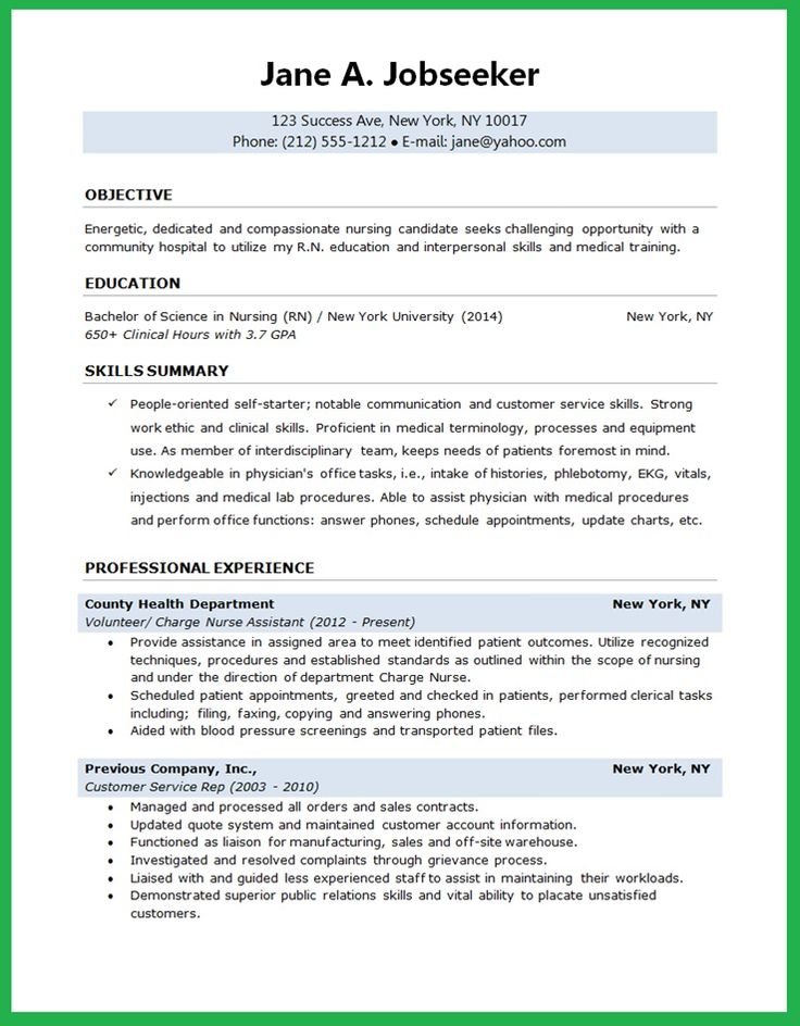 nursing student resume certified nursing assistant resume sample