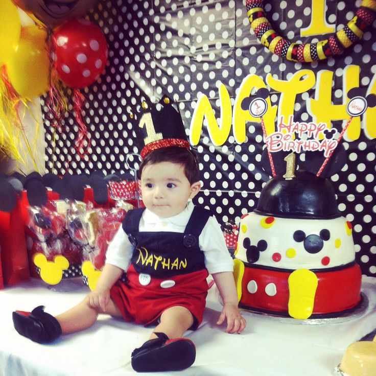 Mickey Mouse theme party Nathan's Mickey Mouse Birthday
