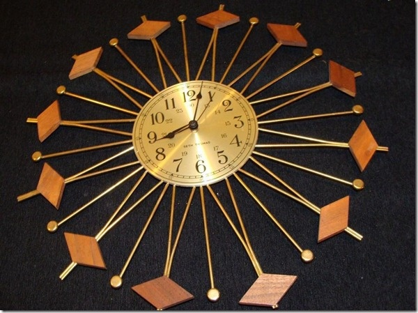 1000+ Images About Tick-Tock Mid-Century Clock On