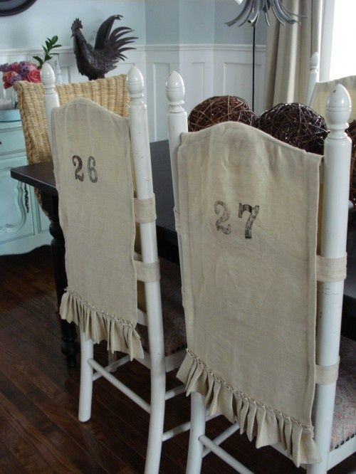 1000 Ideas About Burlap Chair On Pinterest Chairs