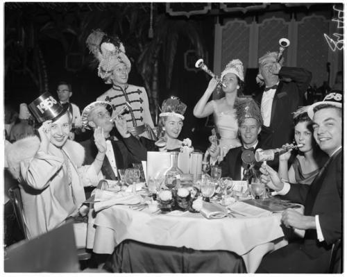 New Years Eve Coconut Grove 1957 Photo Finish