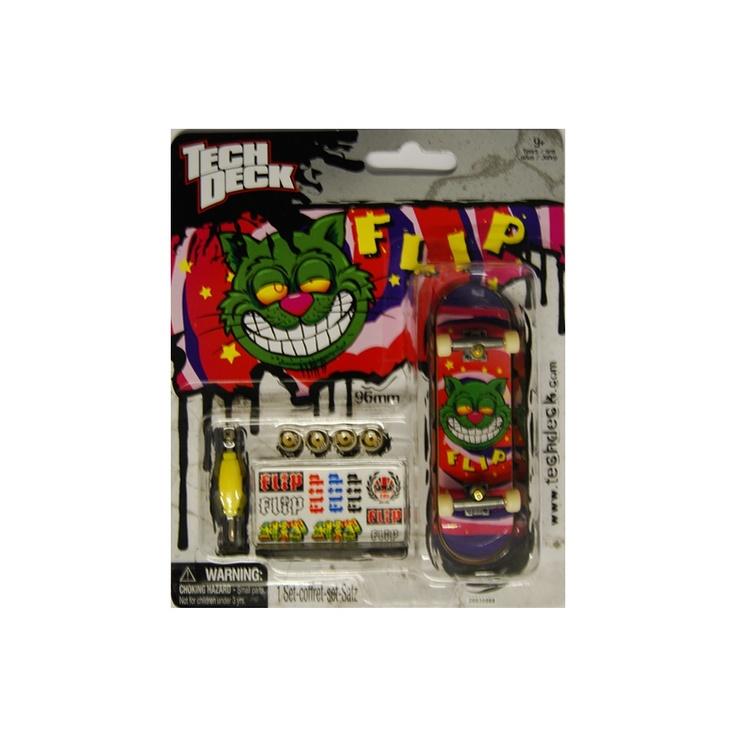 Tech Deck Fingerboard Flip Green Cat £4.99 Fingerboards