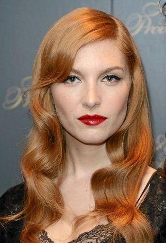 Josphine De La Baume Redhair Hairstyle Hair Trs