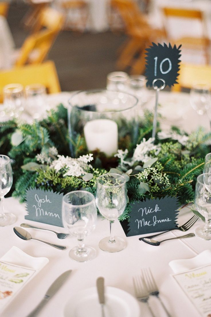 Lovely Tablescape With Unique Place Cards Table Card And