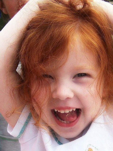 Sorriso de criança.