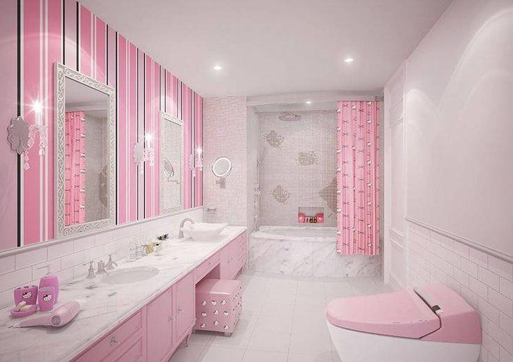 Best 20+ Pink Bathrooms Ideas On Pinterest