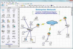 Network Topology Diagram | work topology diagram