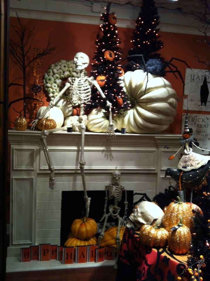 I want that big white pumpkin! Best Halloween party ever