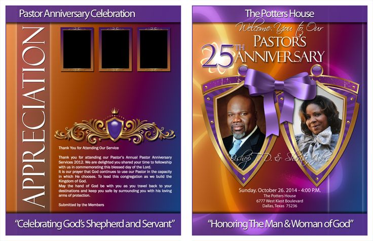 Divine Pastor And Wife Anniversary