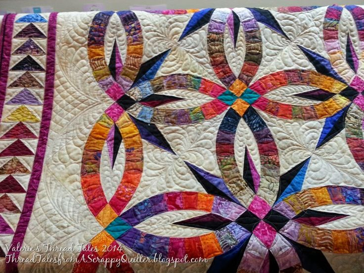 Thread Tales from a Scrappy Quilter My Bali Wedding Star