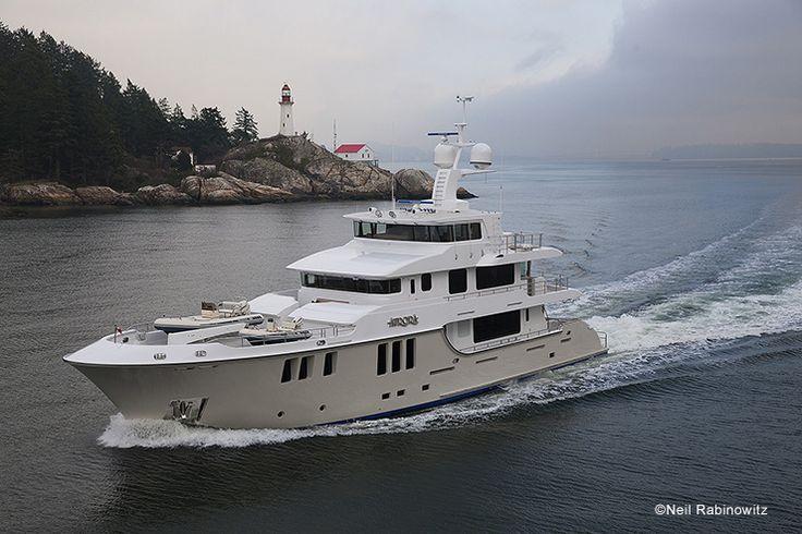 Nordhavn 120 Aurora Megayacht With No Limits Yachts