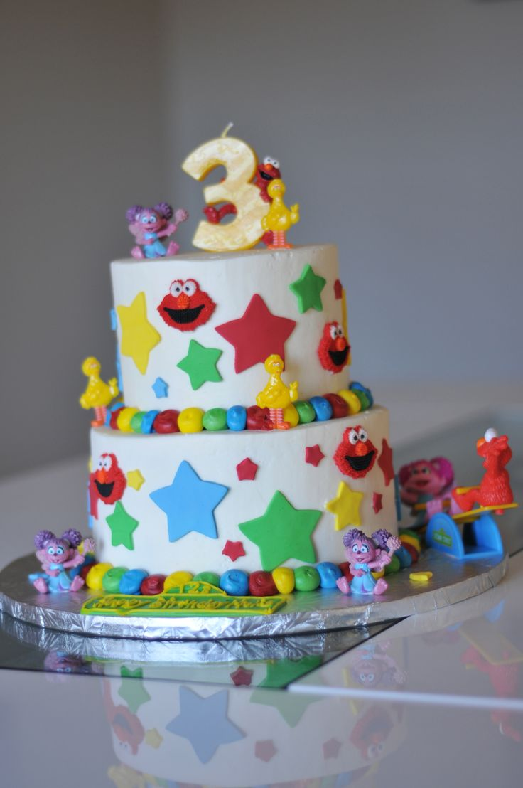 Very Cool Birthday Cake For A 3 Year Old Girl Cool