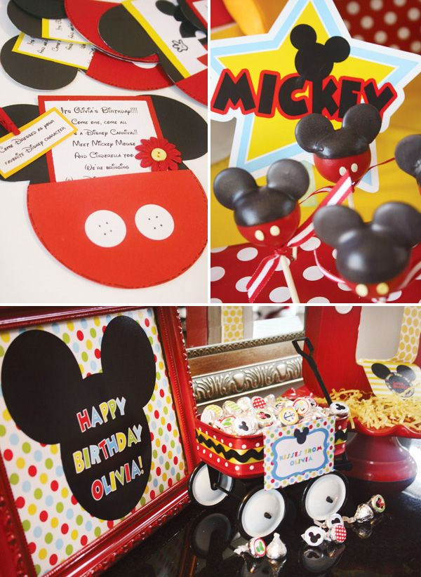 159 Best Images About Mickey Mouse First Birthday Party On