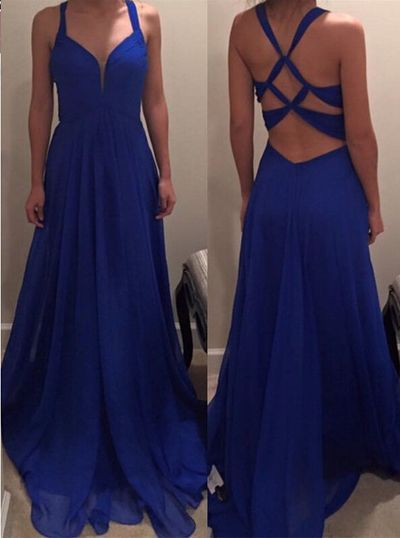 1000 Ideas About Prom Dresses Blue On Pinterest Long