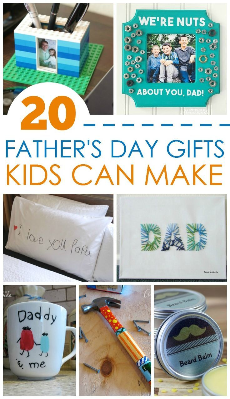 20 fathers day gifts kids can make best gift ideas