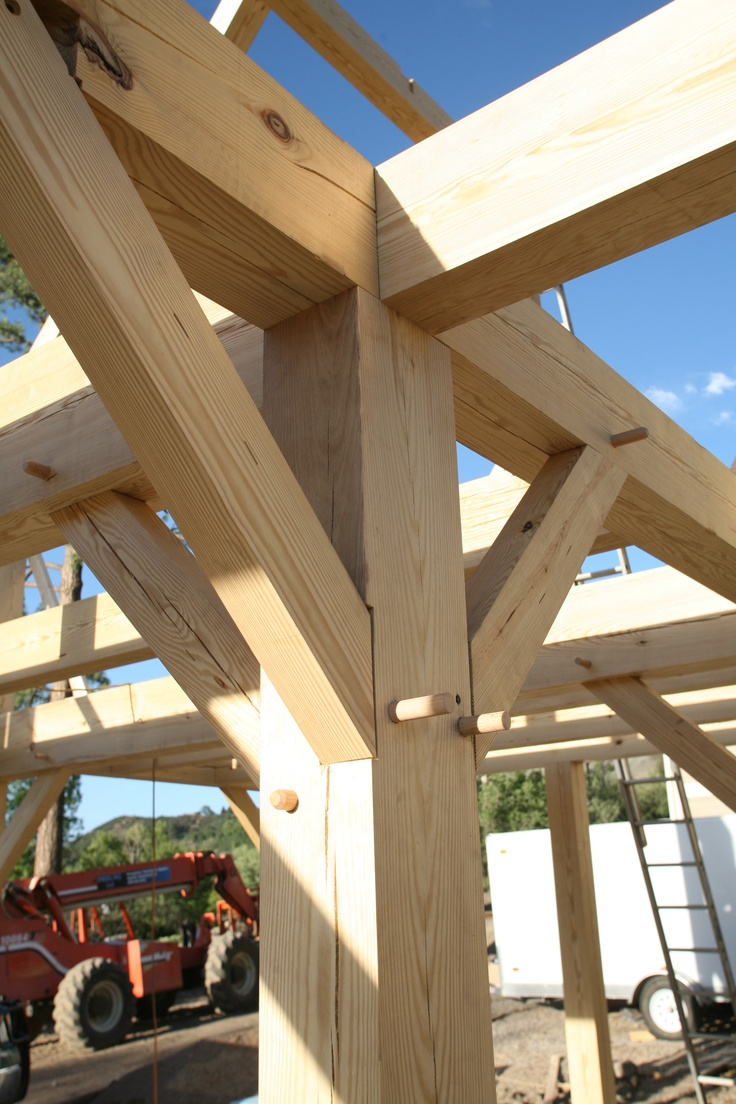 Timber Frame Joint Detail Timber Frames Pinterest