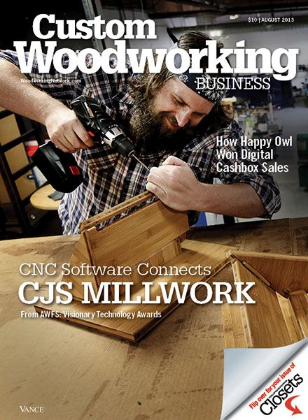 17+ best images about Custom Woodworking Business Magazine ...
