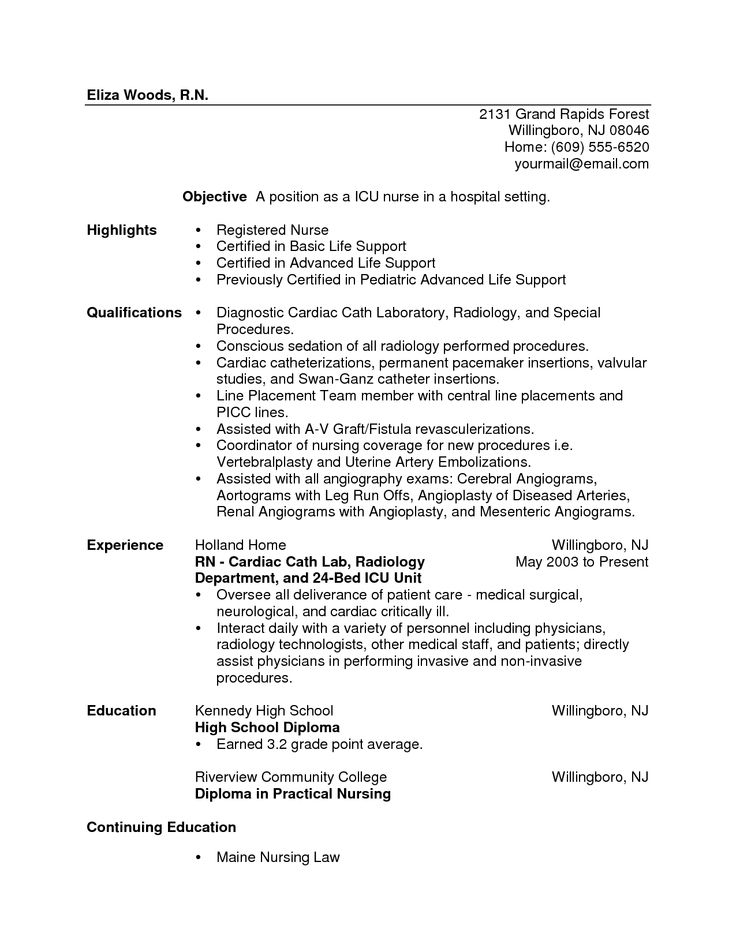 new graduate nurse resume tips new graduate nurse resume nurse