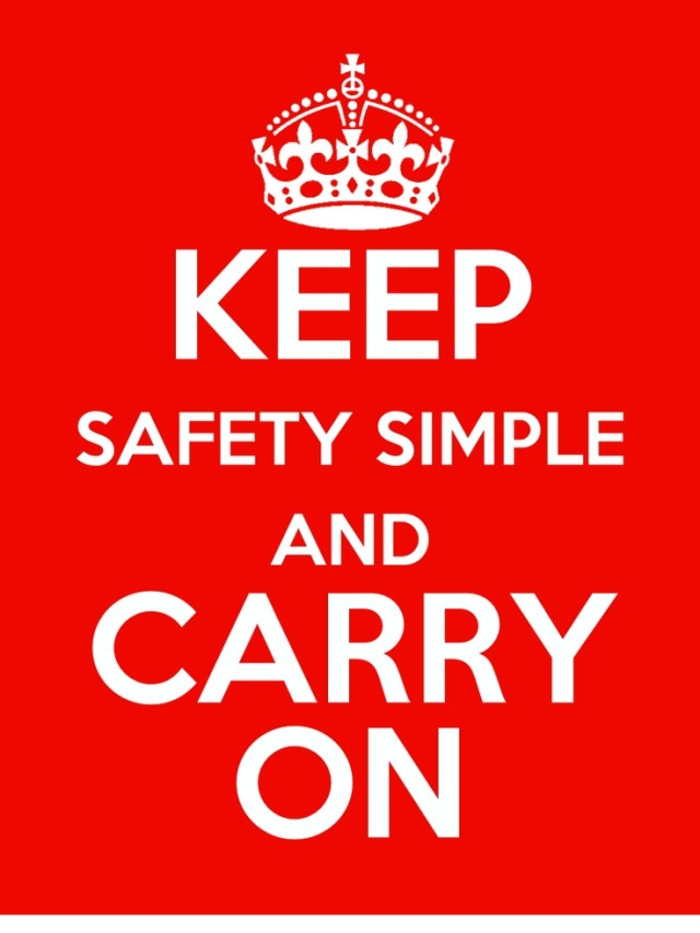 fe82d99e40ab3b4acaafcbbf471db598 simple poster safety posters