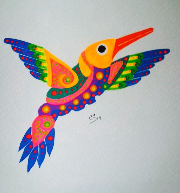 Colibr 237 Huichol Arte Mexicano Pinterest