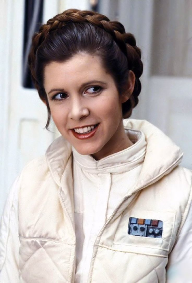 Another Princess Leah pin for my Star Wars board. Great Image Carrie Fisher (Princess Leia Organa Skywalke