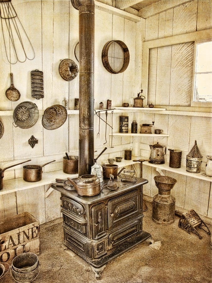 Kitchen from the late 1800's House Kitchens Pinterest