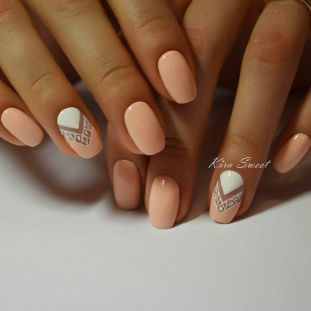 Image result for peach nail polish