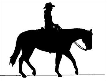 horse silhouette silhouette and cowboys on pinterest