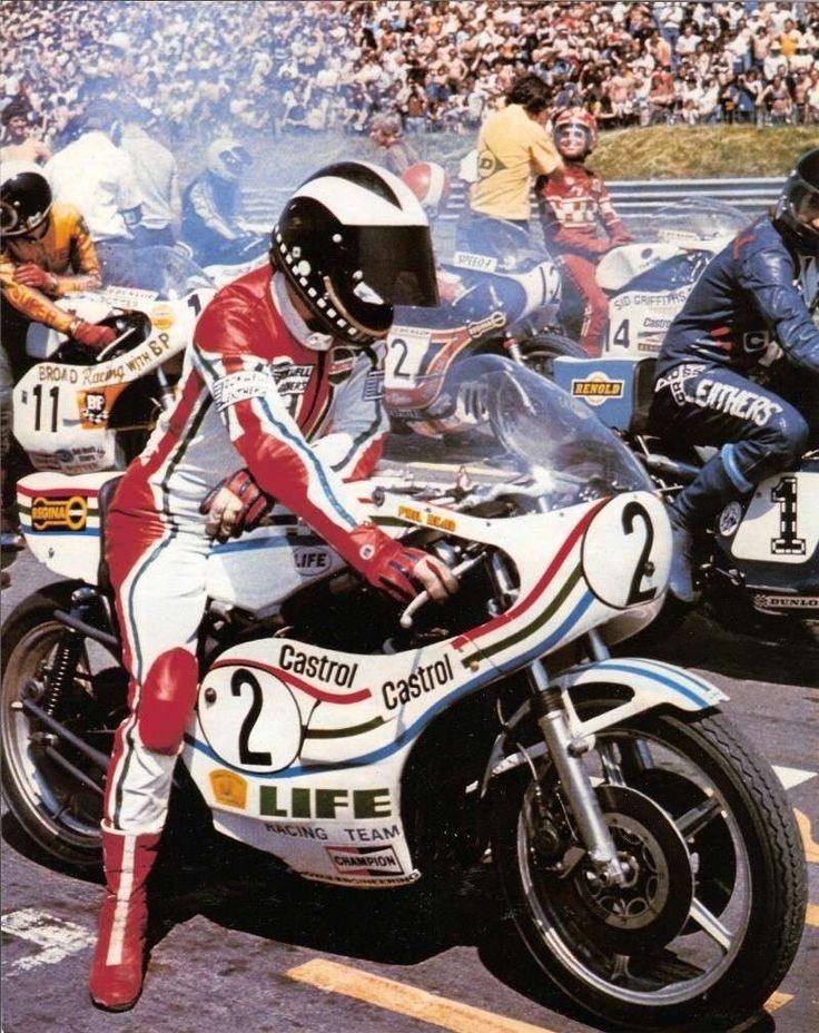 Phil Read, Suzuki 1976 Piston World Pinterest Suits