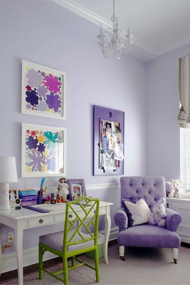 Open Your Doors And Let Those Spring Colors In A Lovely Shade Of Lavender Painted