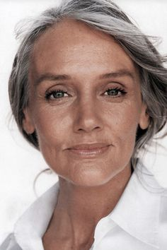 aging fabulously with gray