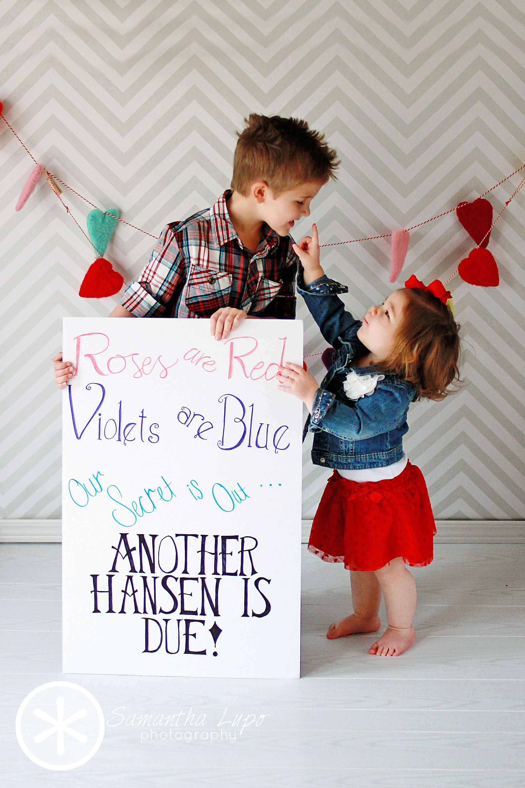Pregnancy Announcement Siblings