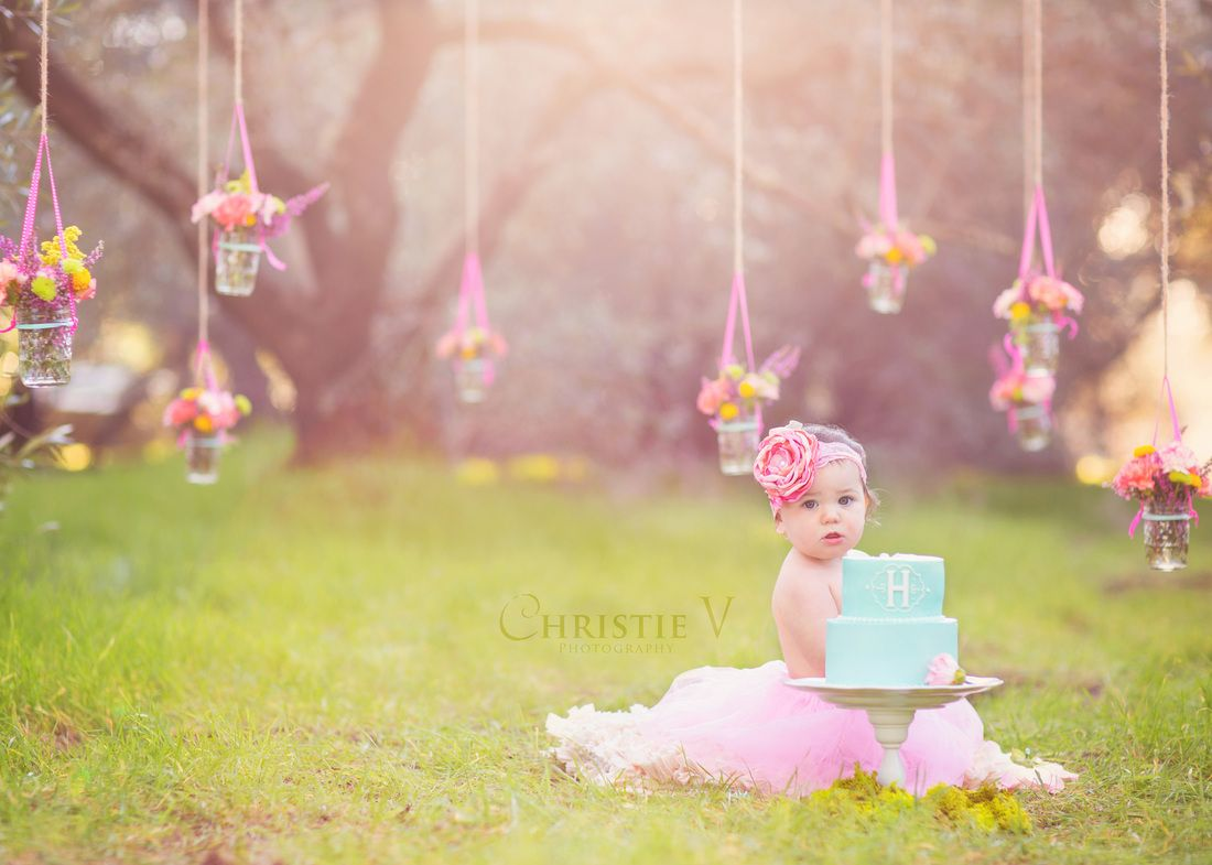 Prettiest Cake Smash Session Ever Baby Photography