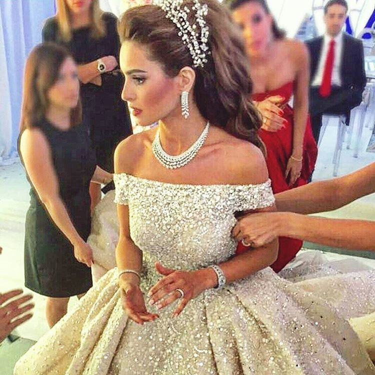 "Lebanese Weddings on Instagram ""Wedding dress Zuhair"