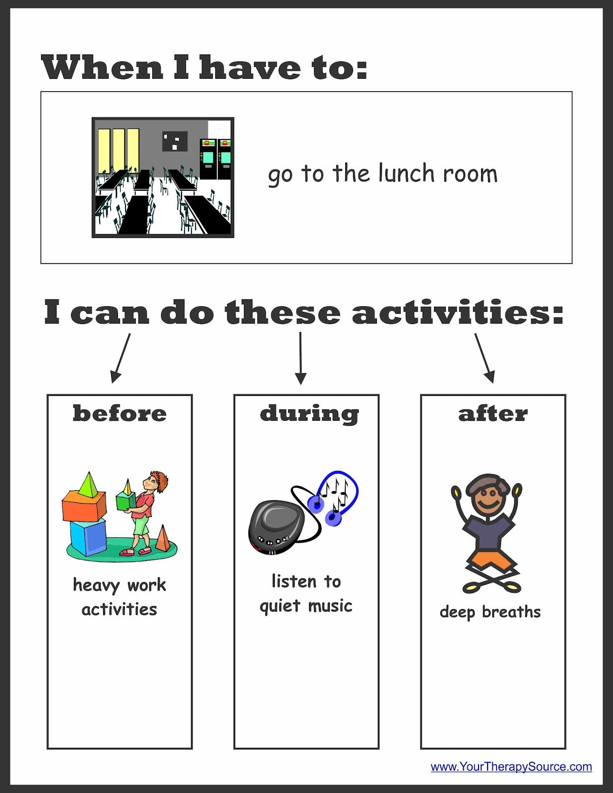 Sensory Preferences Worksheet To Determine Sensoryt