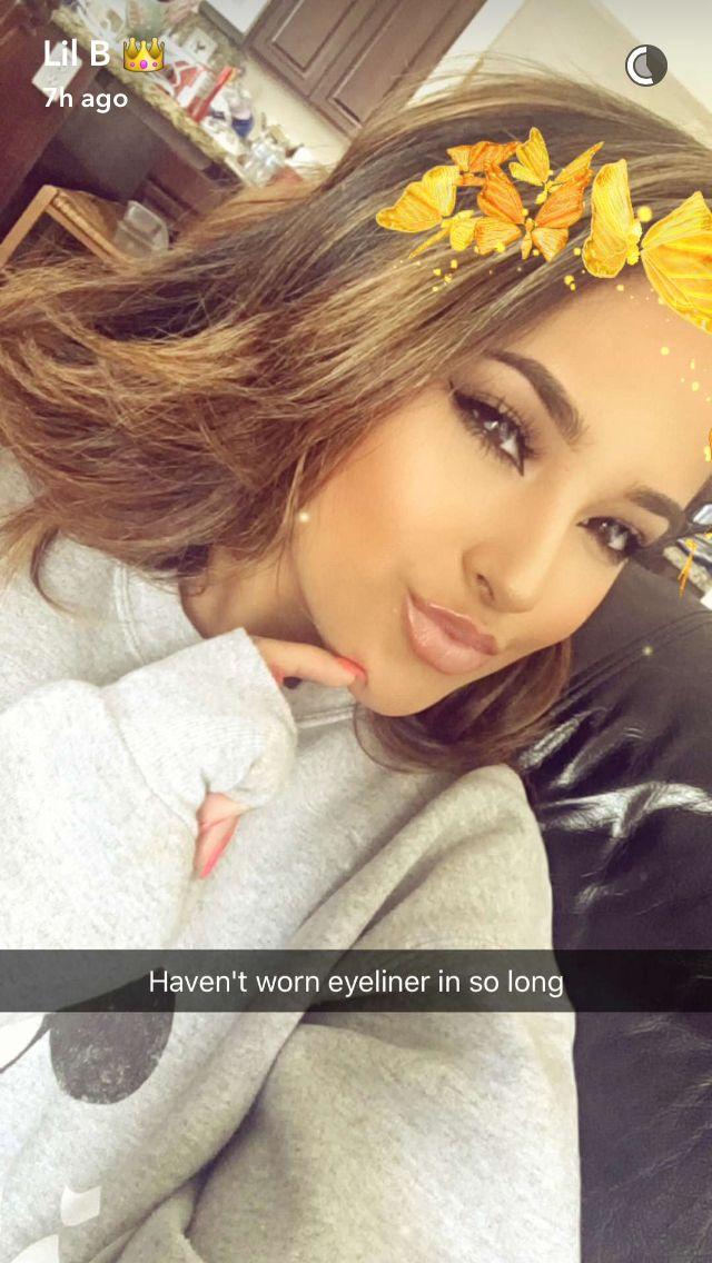 But looks sooooo pretty Becky g Pinterest Snapchat