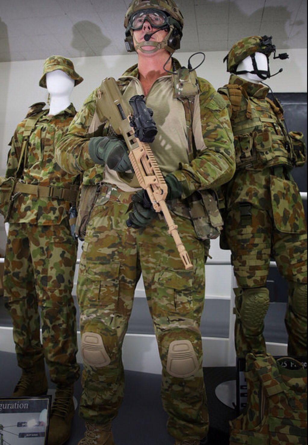 NOTE AUSCAMMULTICAM hybrid, body armour, new pouches (For
