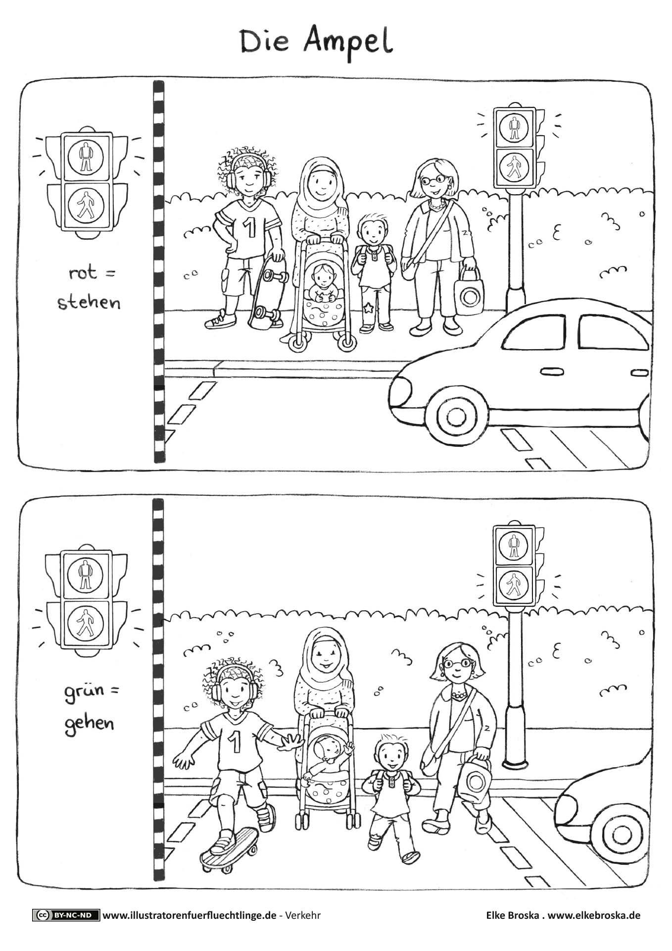 Download Als Verkehr Ampel Broska