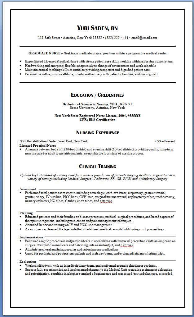 sample resume lpn sample lpn resume by umo sample lpn resume by ...