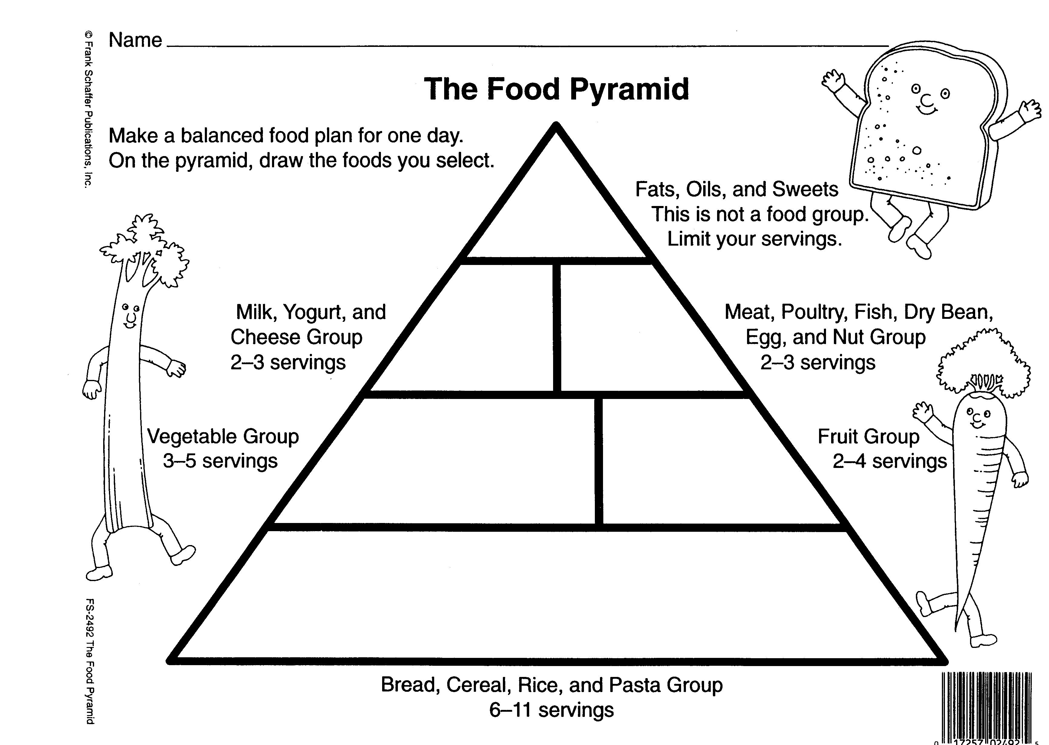 Worksheet Food Pyramid Worksheets Blank Food Pyramid