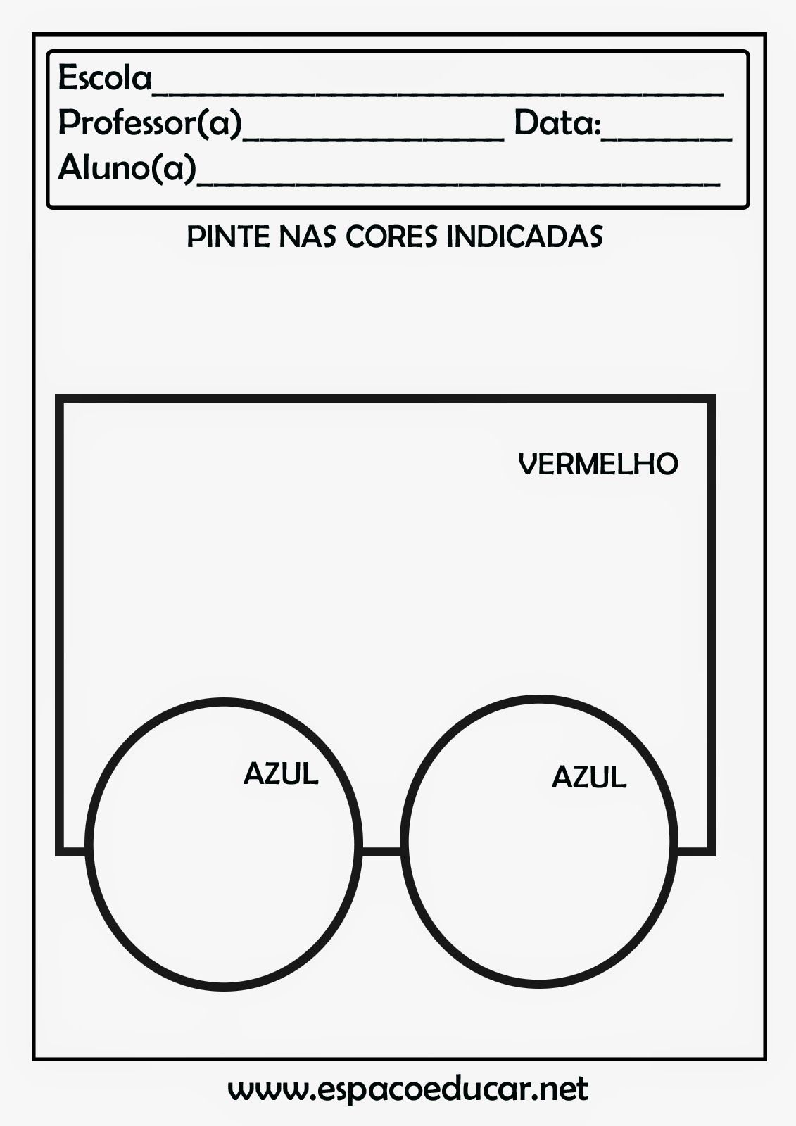 Atividades Cores Formas Figuras Geometricas Educacao