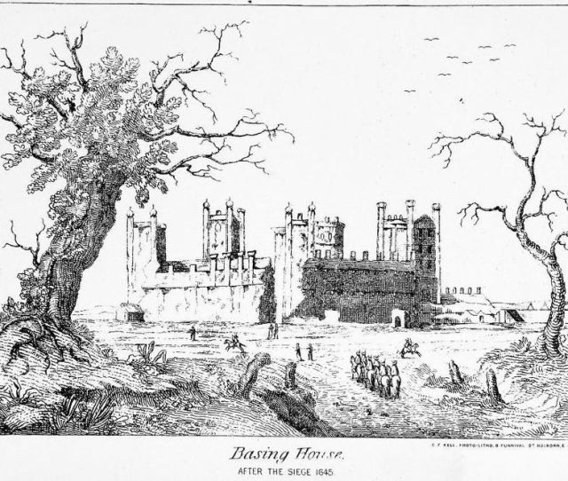 Basing House After The Siege Siege Of Basing House Wikipedia The Free Encyclopedia