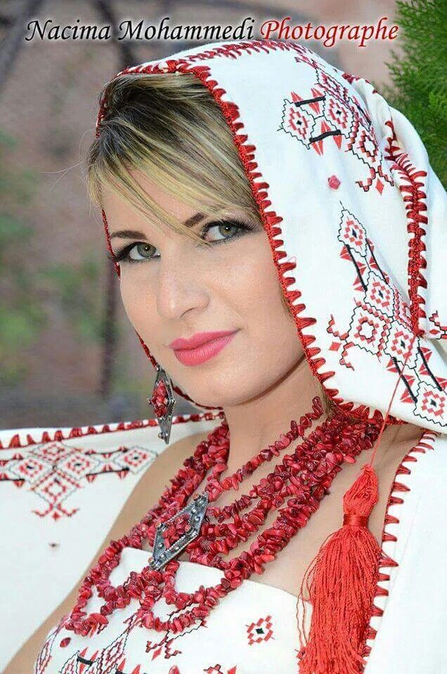 KABYLE the berber Algerian beauty. my country couture