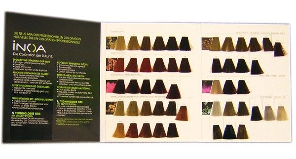 Professional Hair Color Swatches It Was The Hairstylist