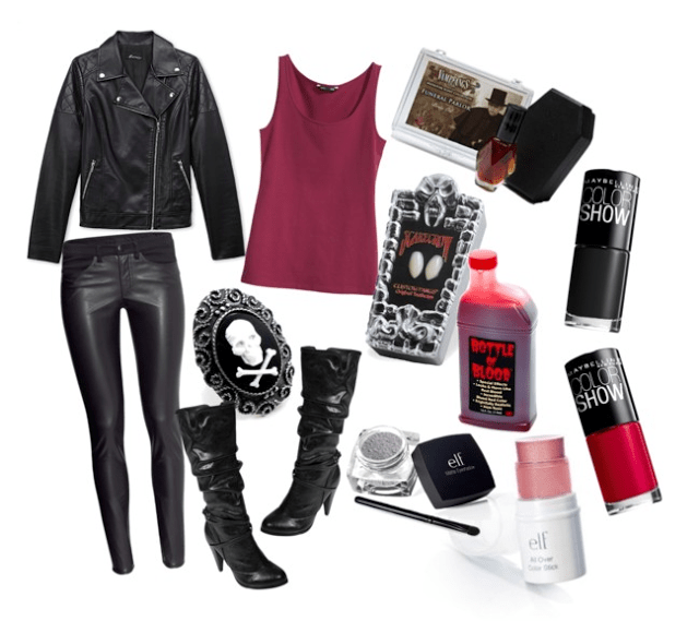 DIY vampire costume Halloween ♥ Pinterest Diy