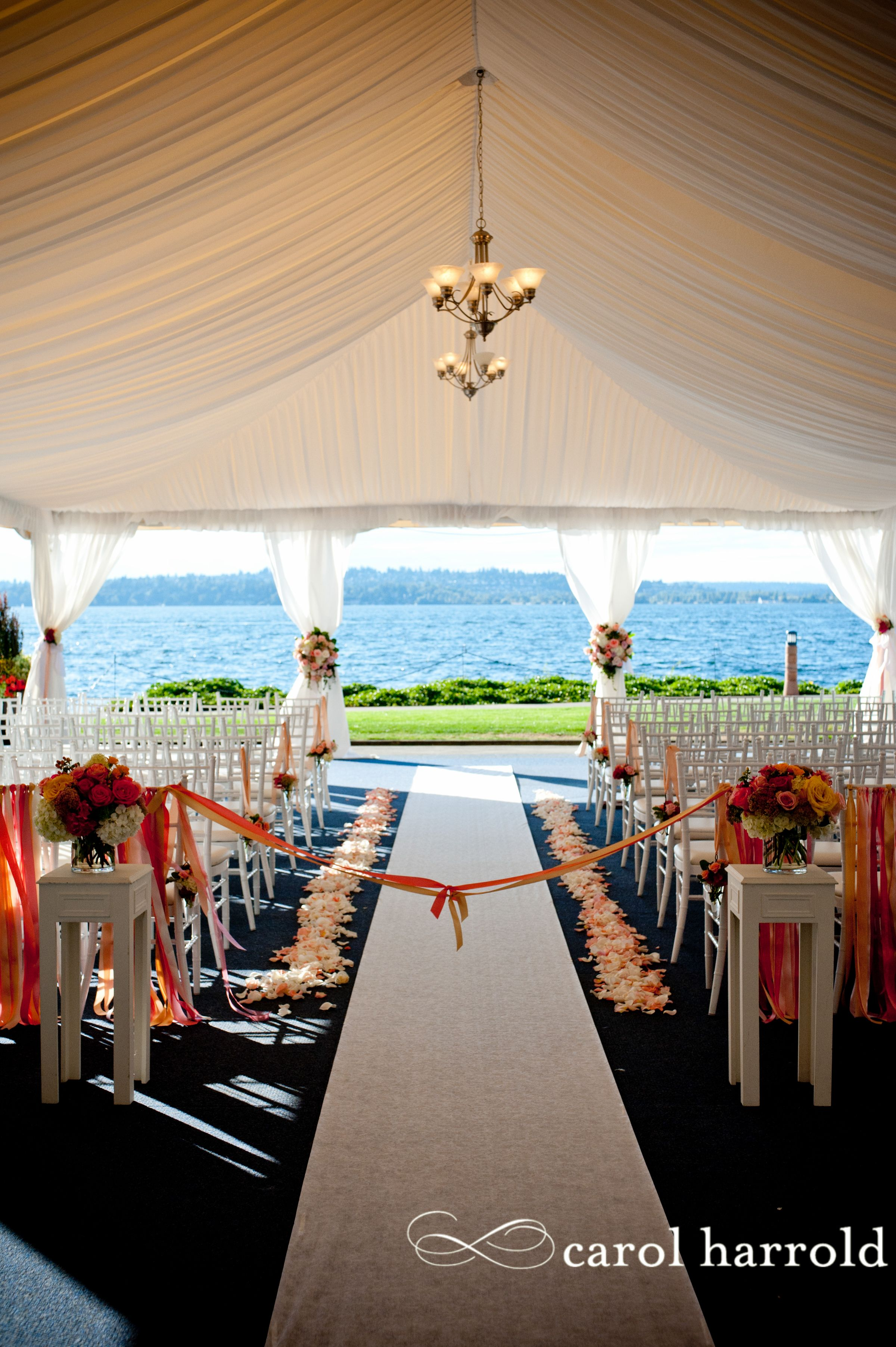 Seattle area wedding venue on Lake Washington Woodmark