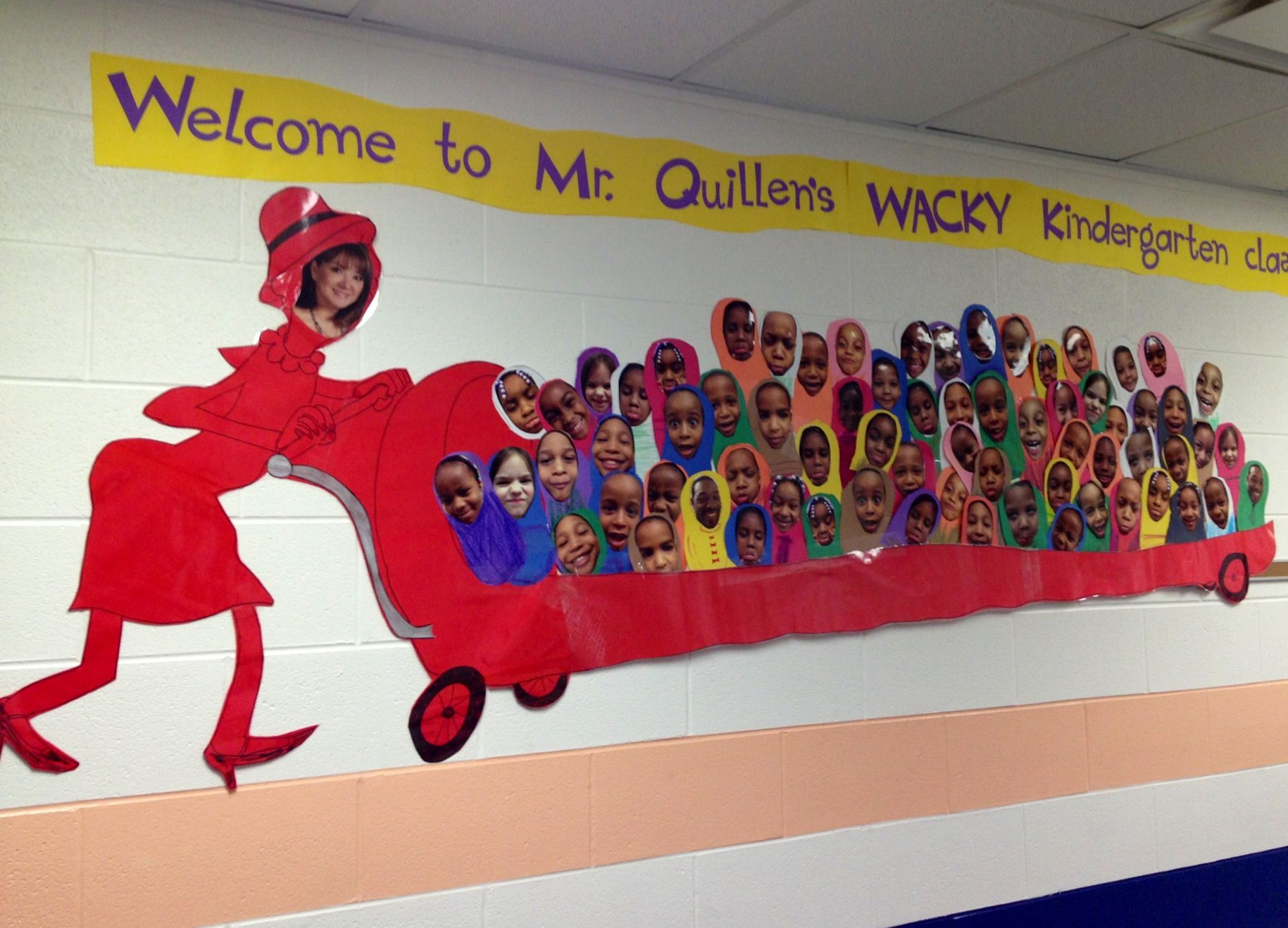 Wacky Wednesday Hall Decoration My Students Came Up With